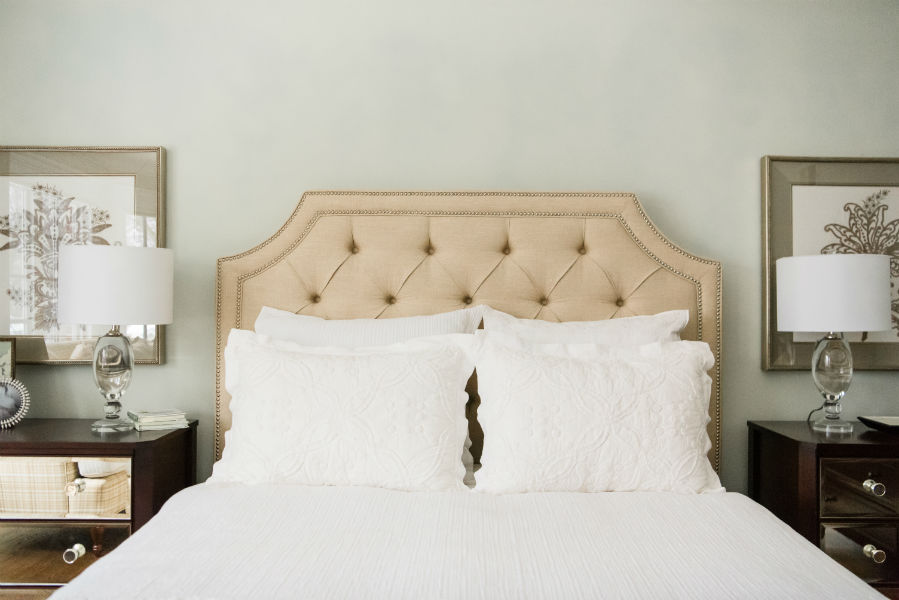Bedding Detail Colleen Mcnally Interiors