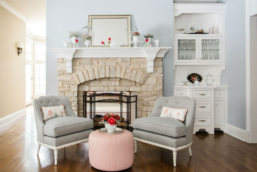 Living Room Interior Design By Colleen Mcnally