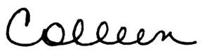 Colleen Signature