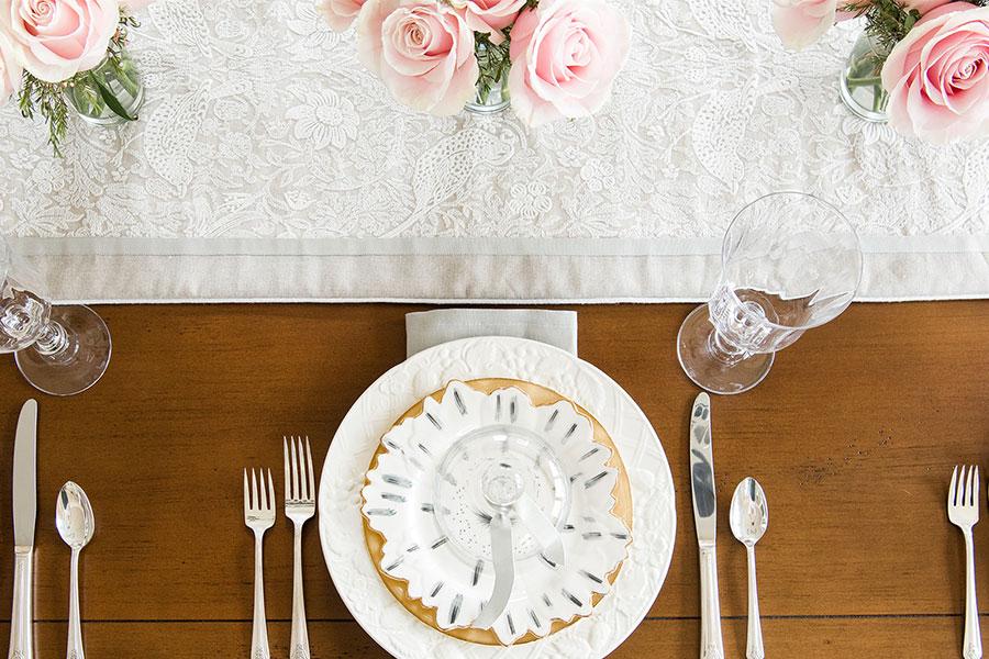 Dinner Place Setting Design