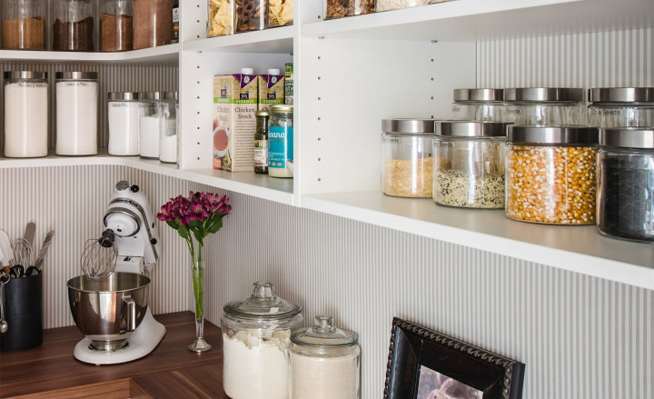 Inspired Closets: How to Turn a Pantry into a Super Pantry