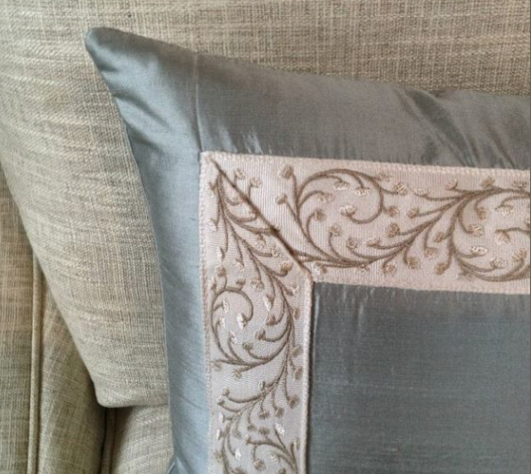 Silk Pillow Colleen Mcnally 1